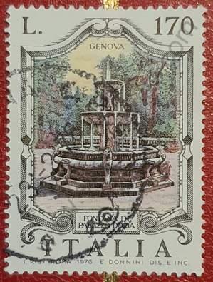 Sello Fontana di Palazzo Doria - Italia 1976