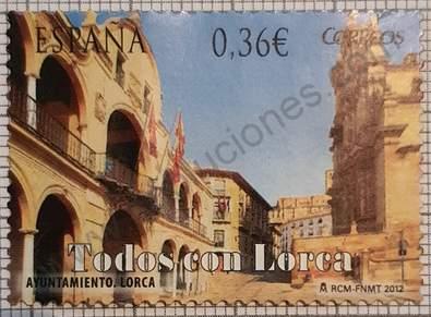 Ayuntamiento de Lorca - Sello España 2012