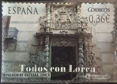 Palacio de Guevara en Lorca - Sello España 2012