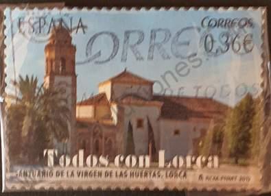 Santuario de la Virgen de las Huertas - Sello España 2012