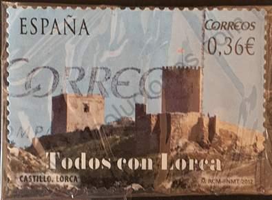 Castillo de Lorca - Sello España 2012