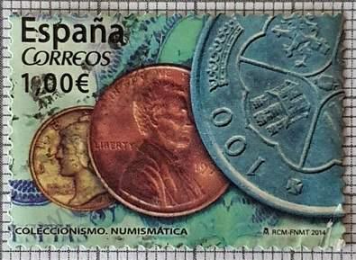 Coleccionismo Numismatica - Sello España 2014