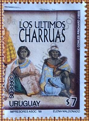 Sello Guyunusa y Senaque - Uruguay 1999