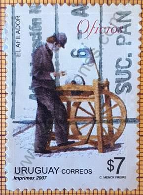 Sello El Afilador - Uruguay 2007