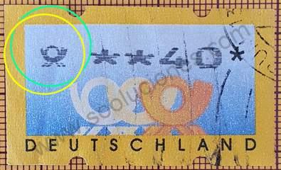 Emblema de correos - Sello Alemania 1999