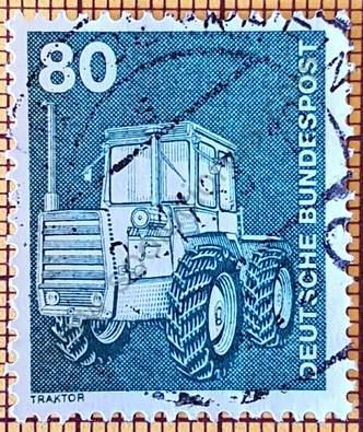 Sello Alemania - Tractor - 1975