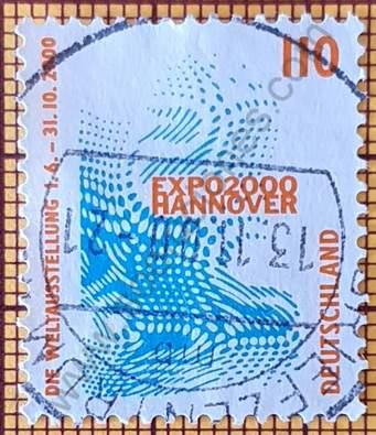 Expo Mundial Hannover - Sello Alemania 1998