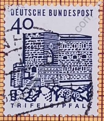 Castillo de Trifels - Sello Alemania 1965