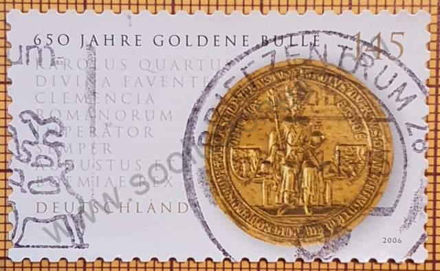 Estampilla Bula de Oro - Alemania año 2006