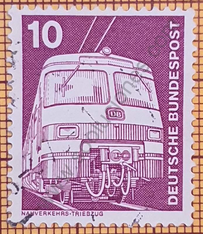 Estampilla de Tren ET 420/421 - Alemania año 1975
