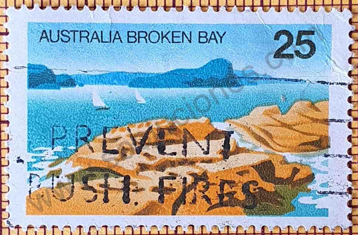 Estampilla Broken Bay - Australia 1976