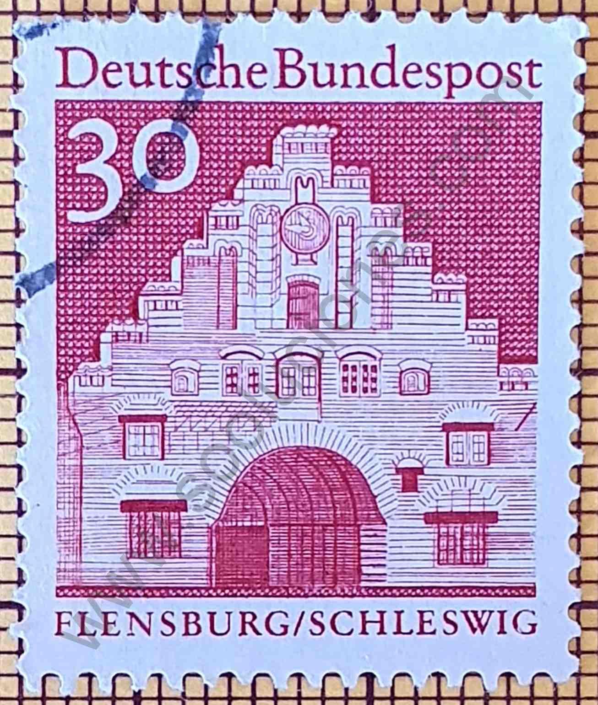 Puerta de Norder - Sello de Alemania año 1967