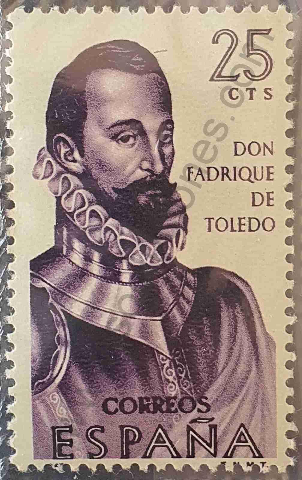 Don Fadrique de Toledo - Sello España 1965