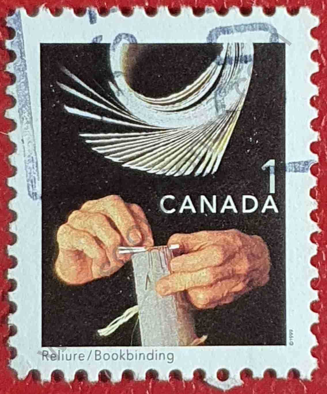 Estampilla sobre la Encuadernación - Canadá 1999