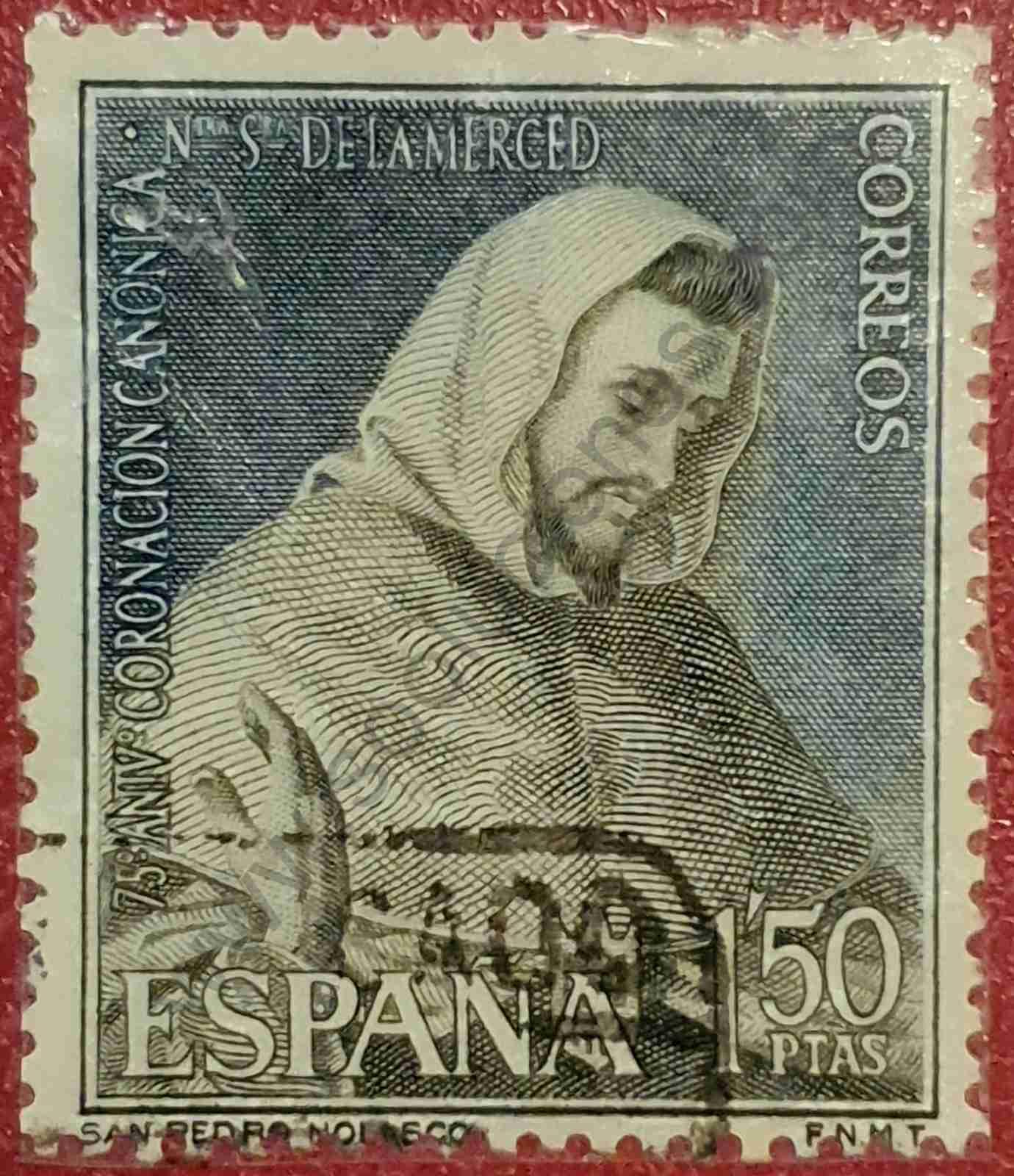 San Pedro Nolasco - Sello España 1963