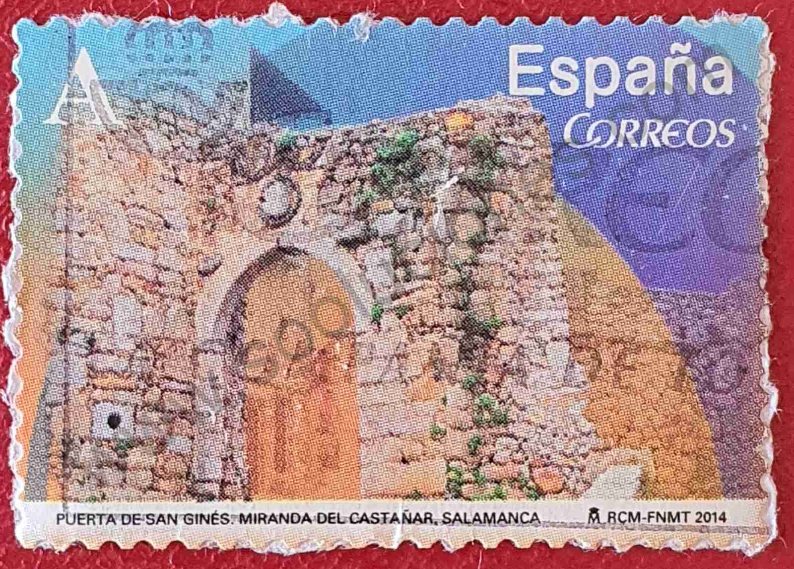 Puerta de San Ginés - Sello España 2014