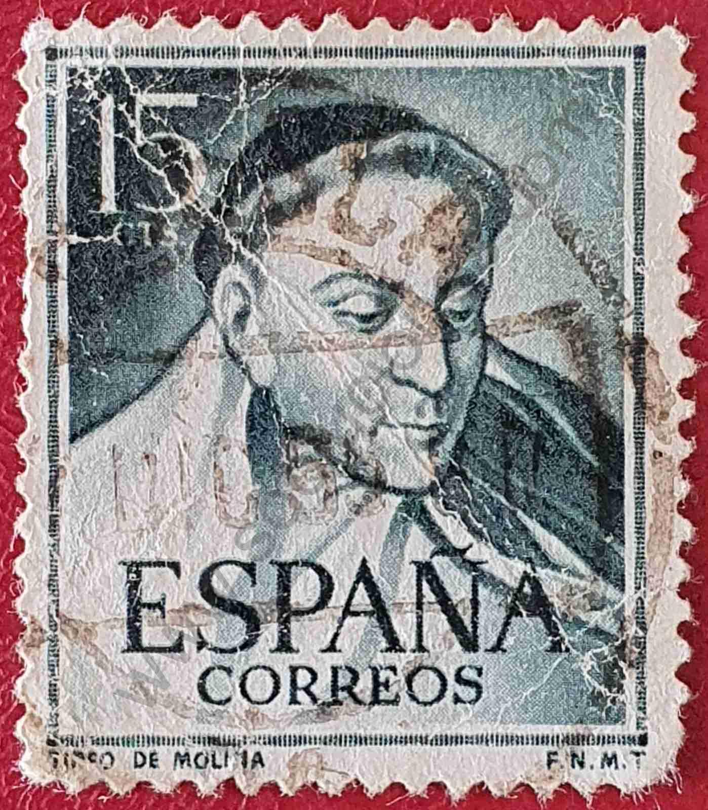 Tirso de Molina - Sello España 1953