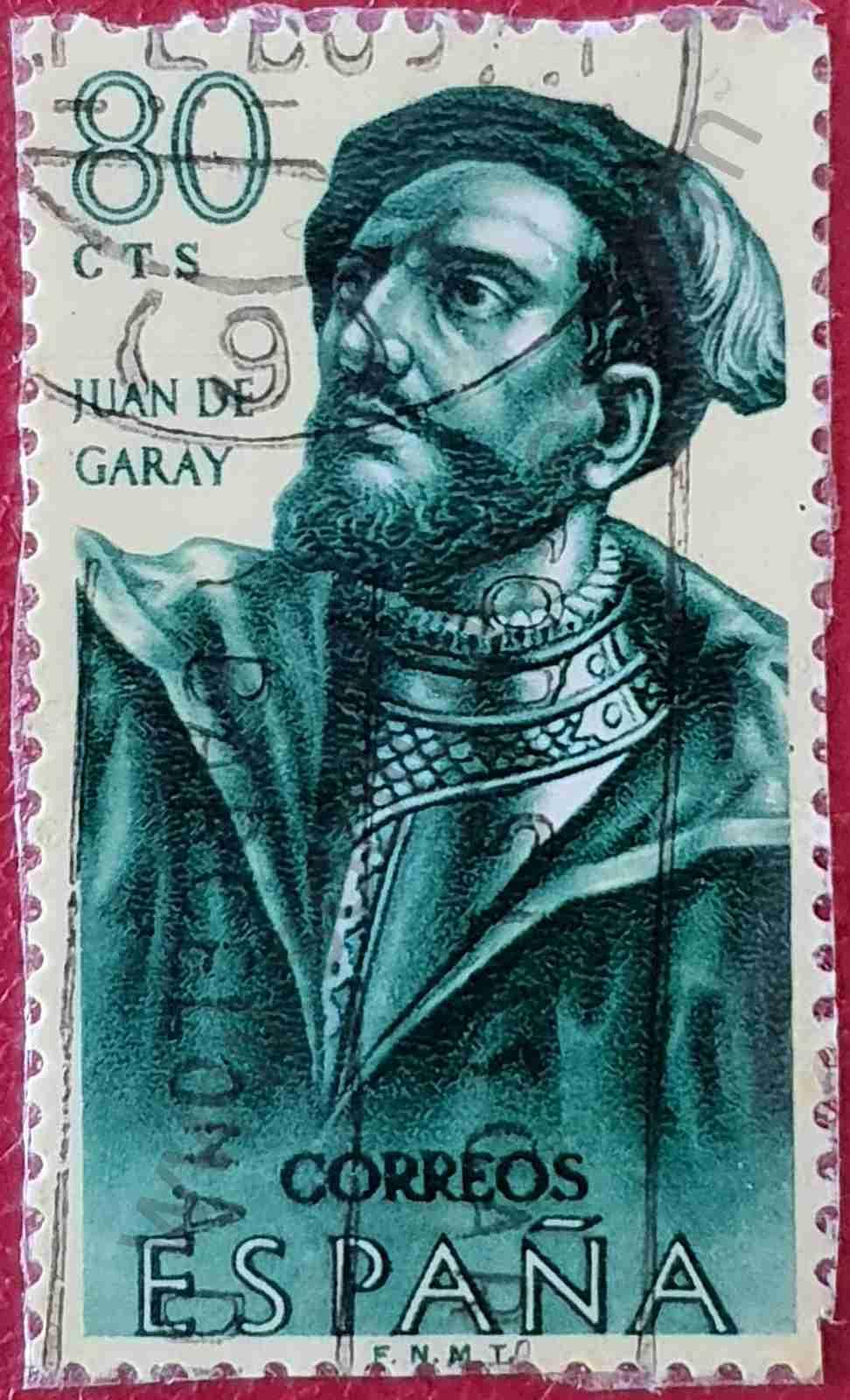 Juan de Garay - Sello de España 1962