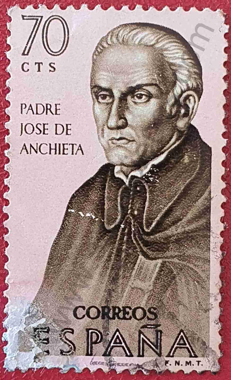 Padre José de Anchieta - Sello España 1965