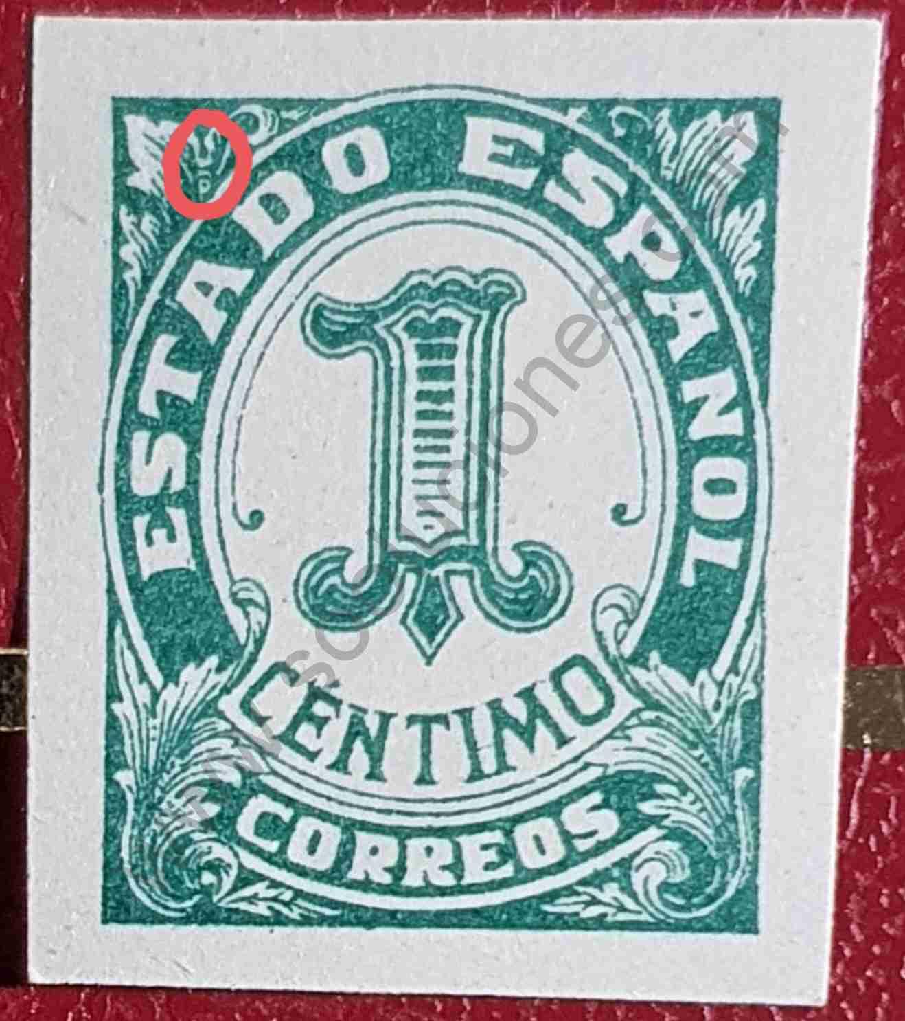 Sello Estado Español nº 1 - España 1936