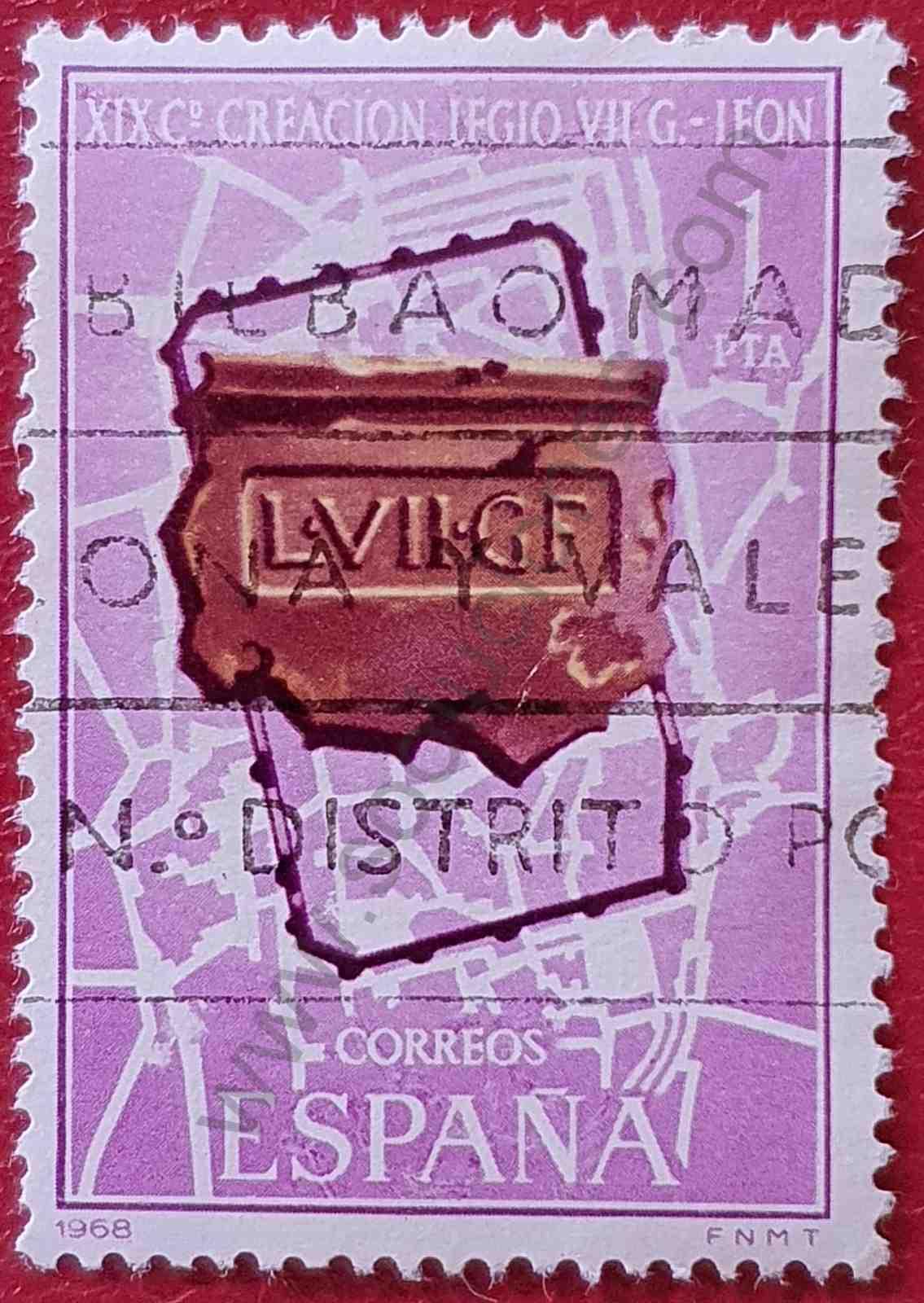 1900 años de León - Sello España 1968