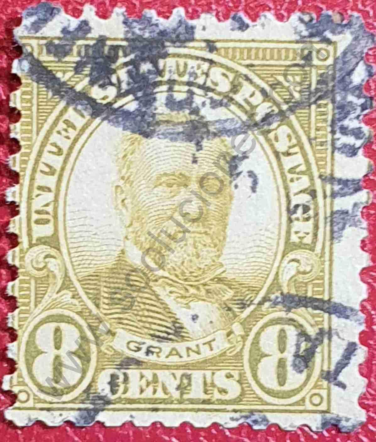 Ulysses Grant - Sello Estados Unidos 1927