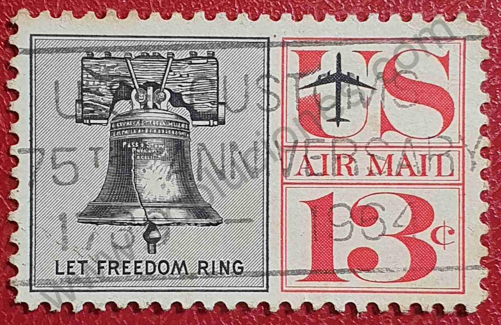 Campana de la Libertad - Sello Estados Unidos 1961