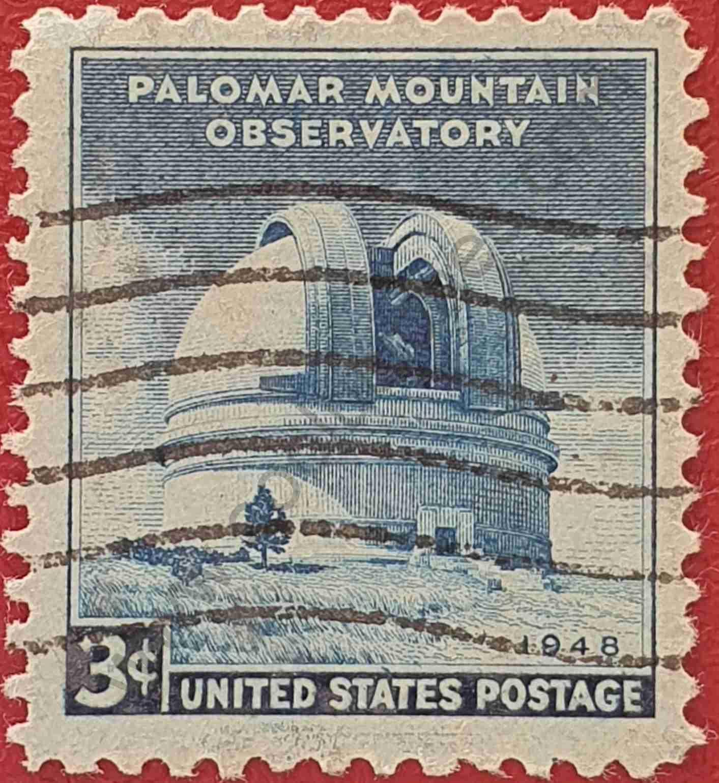 Observatorio Monte Palomar - Sello USA 1948
