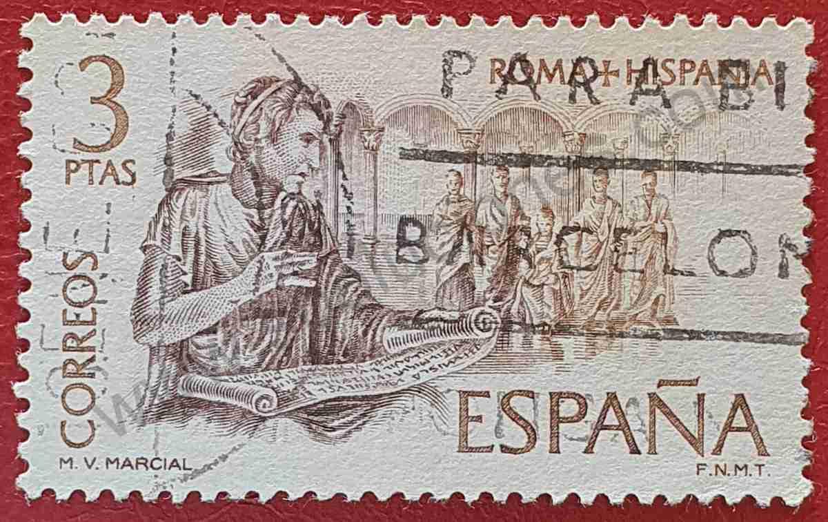 Marco Valerio Marcial - Sello España 1974
