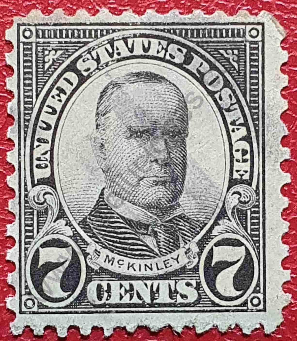 Presidente William McKinley - Sello Estados Unidos 1927
