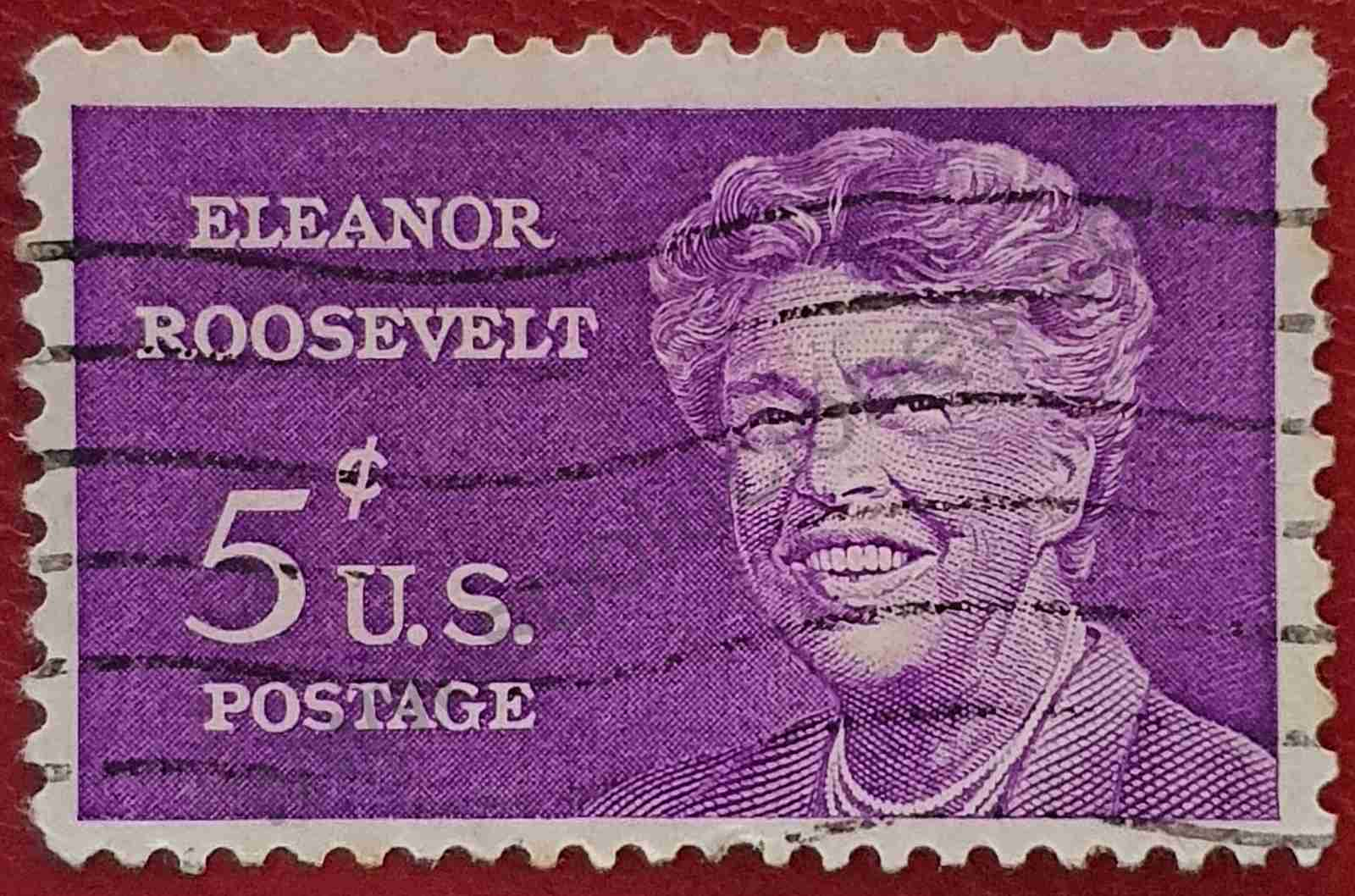 Eleanor Roosevelt - Sello Estados Unidos 1963