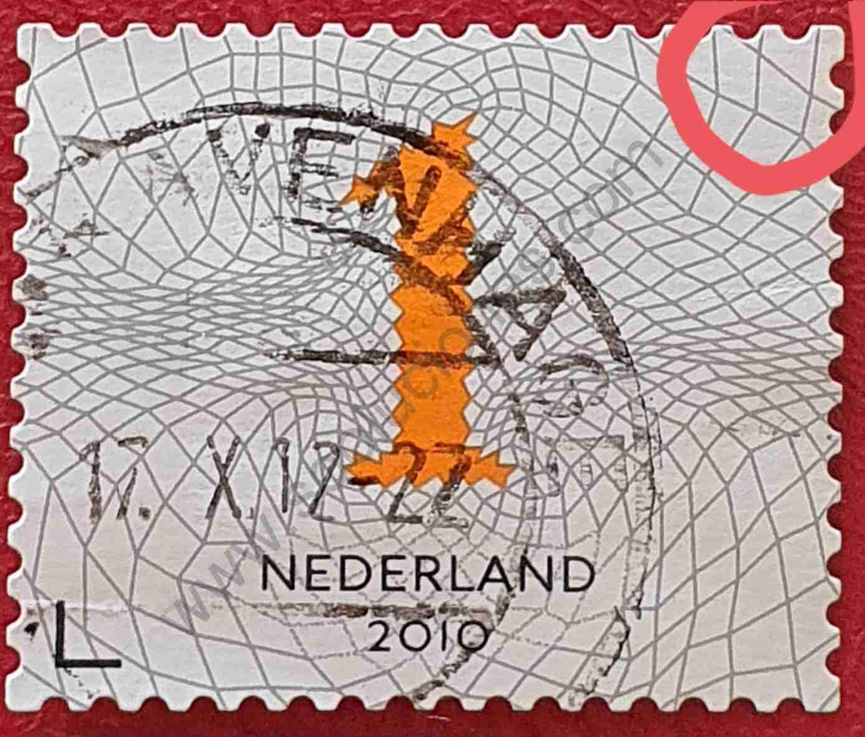 Sello Países Bajos Número 1 - año 2010