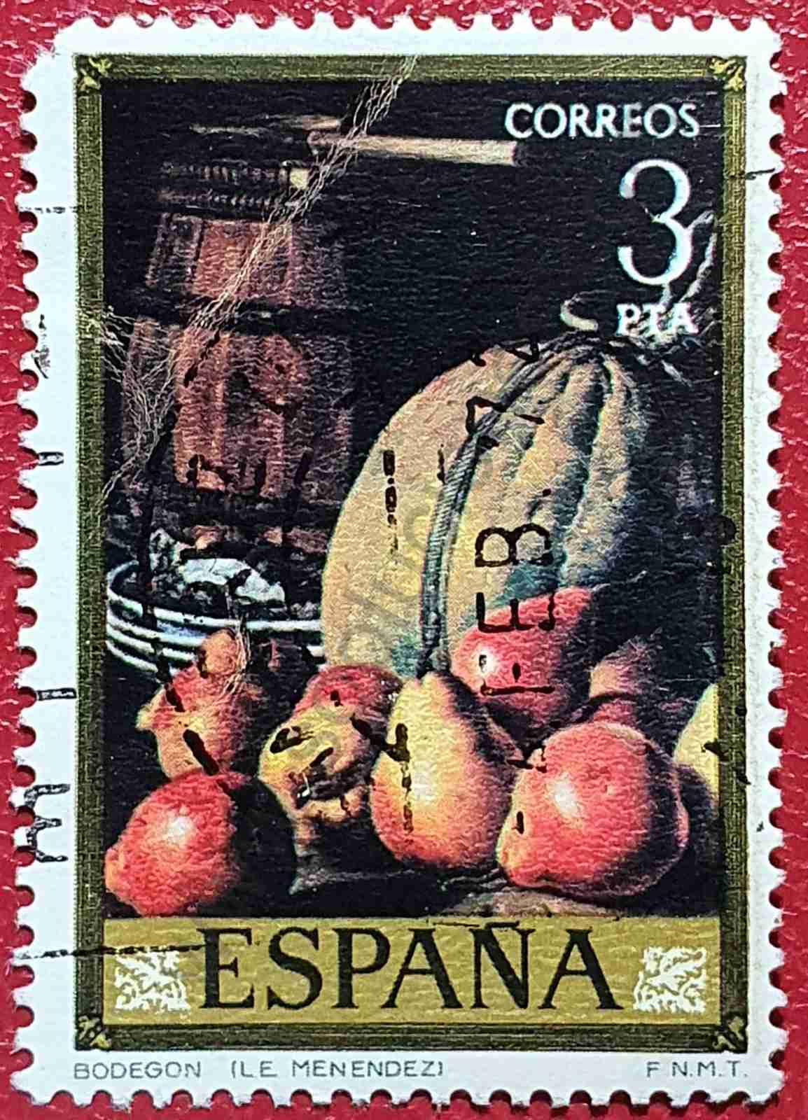 Peras y Melón - Sello España 1976