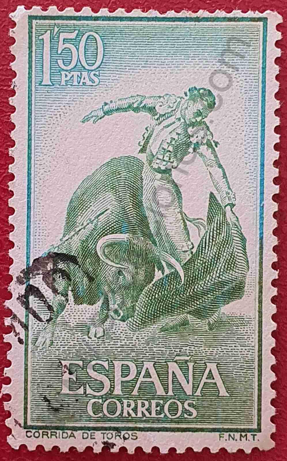 Tauromaquia - Natural - Sello España 1960