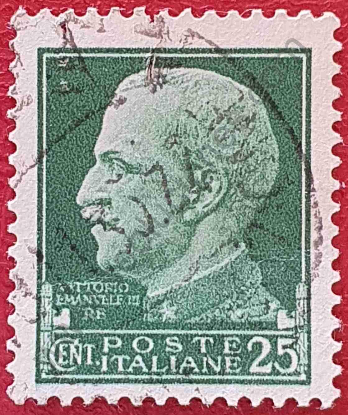 Vittorio Emanuele 25c - Sello Italia 1929
