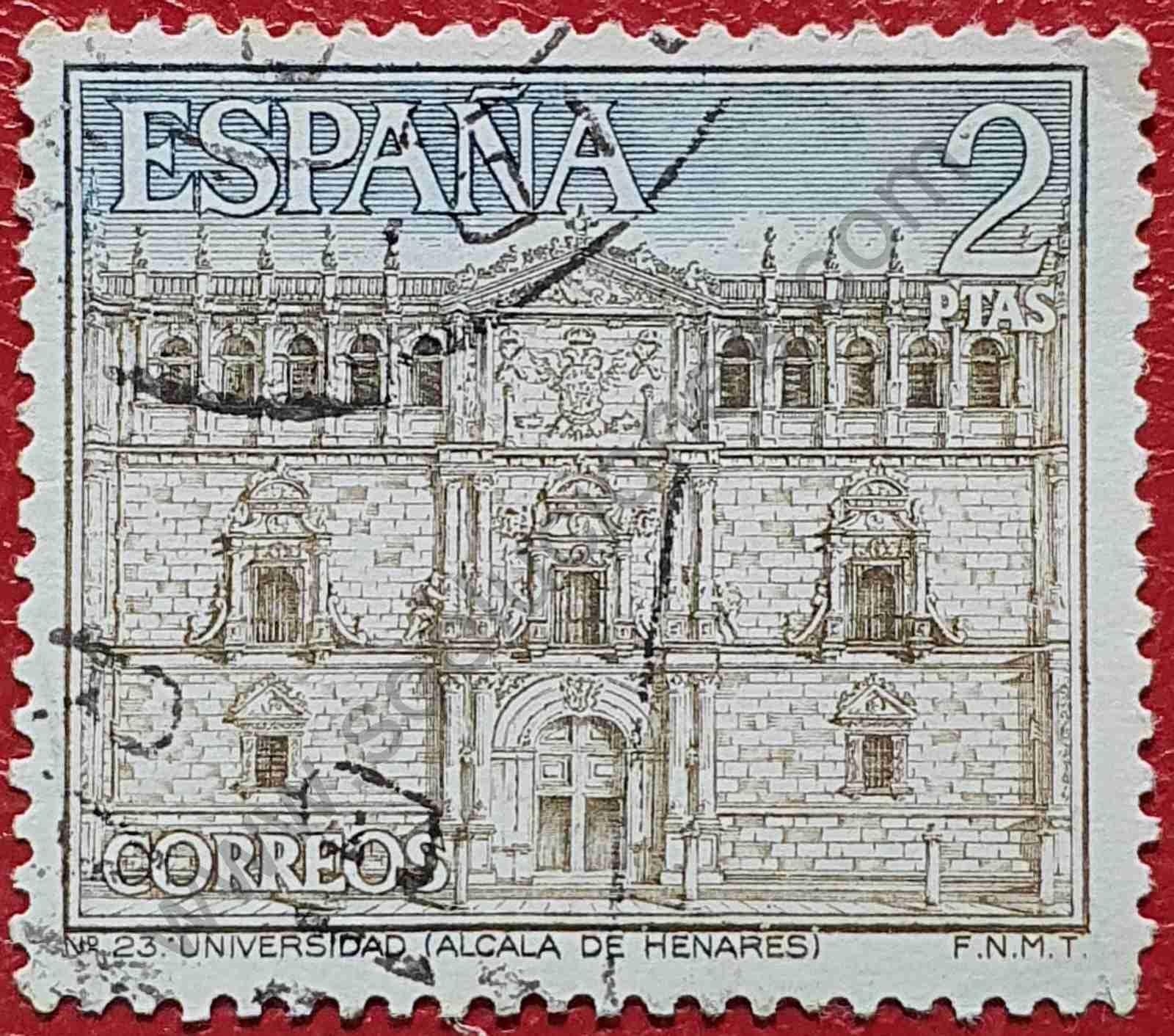 Sello Universidad de Alcalá de Henares - España 1966