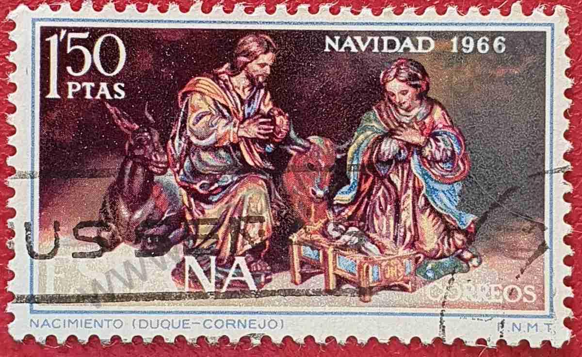 Navidad 1966 - Sello de España