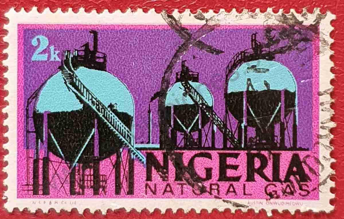 Sello Gas Natural - Nigeria 1973
