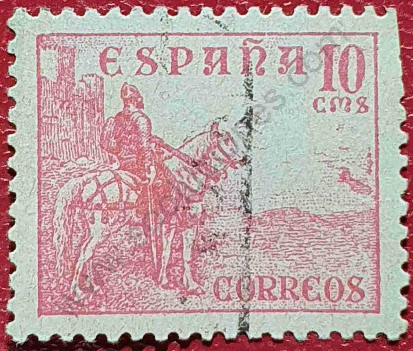 Sello El Cid - España 1949