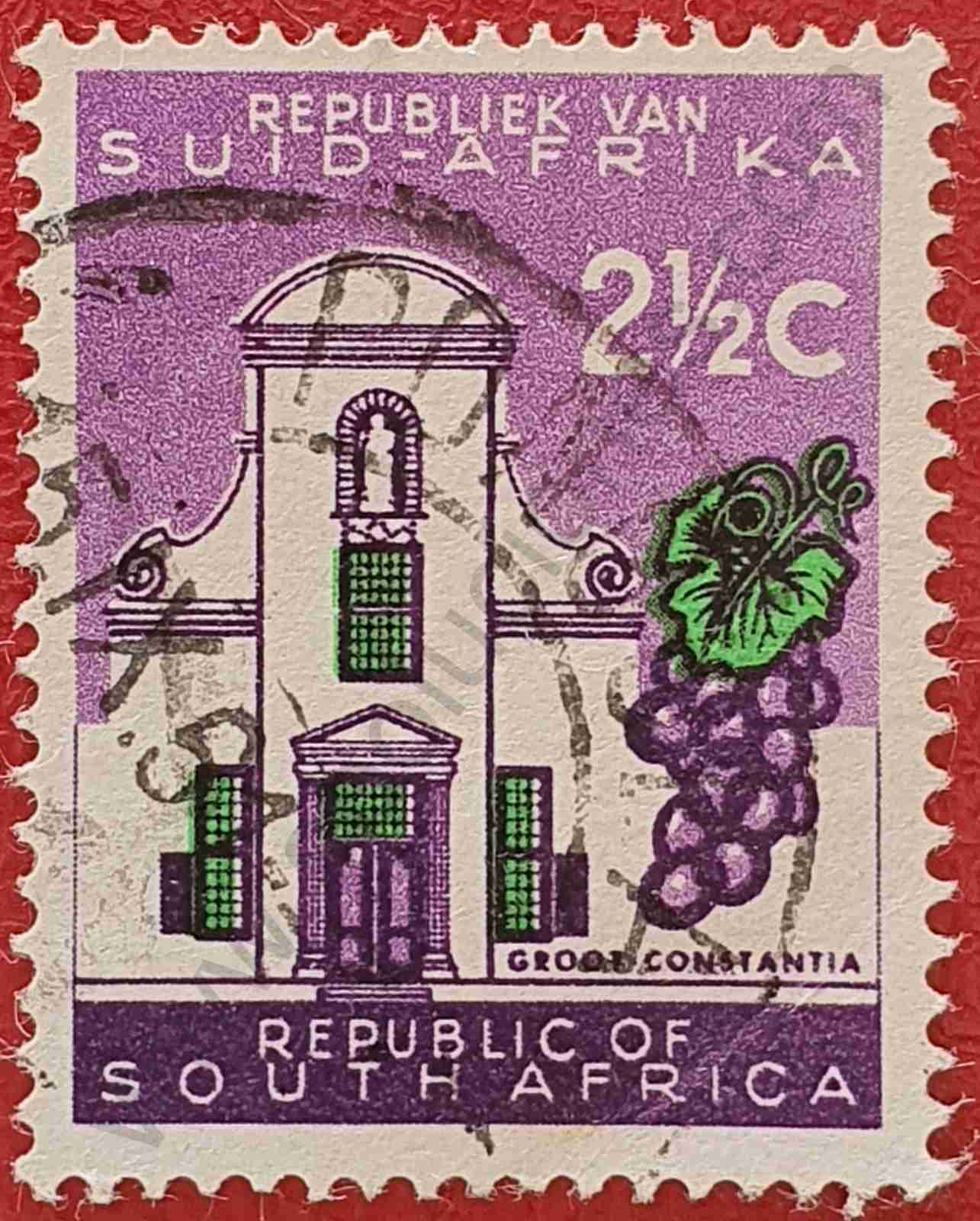 Sello Gran Constancia - Sudáfrica 1961