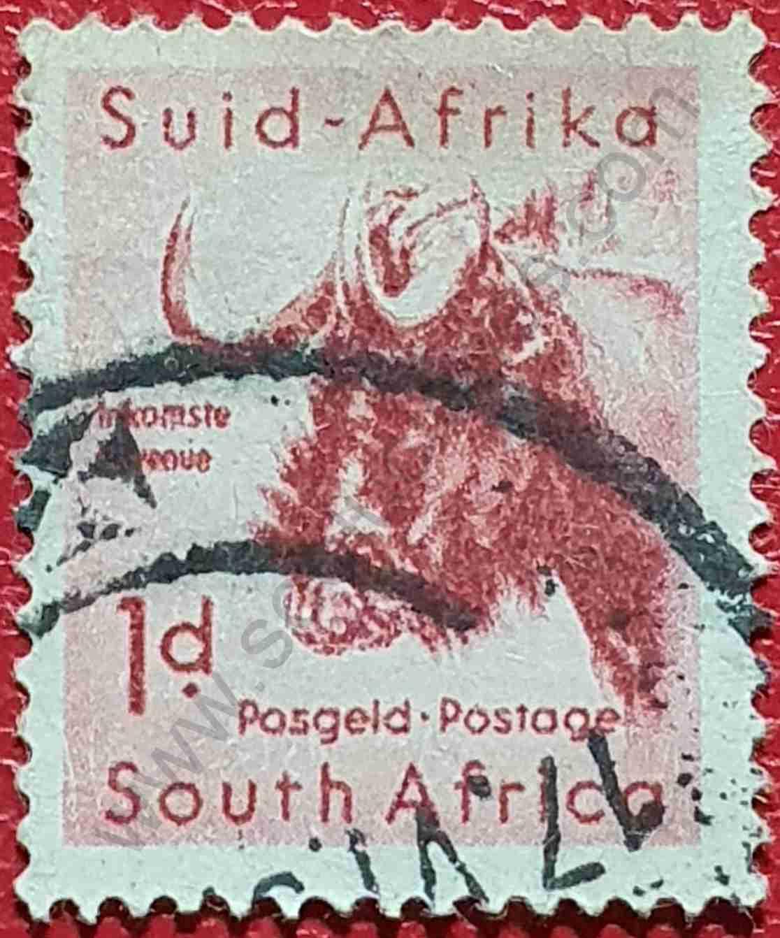 Sello Ñú - Sudáfrica 1960