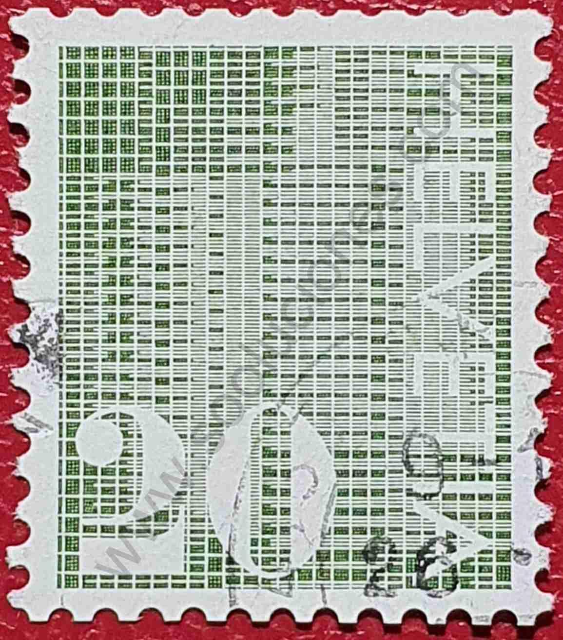 Sello Número 20 - Suiza 1970