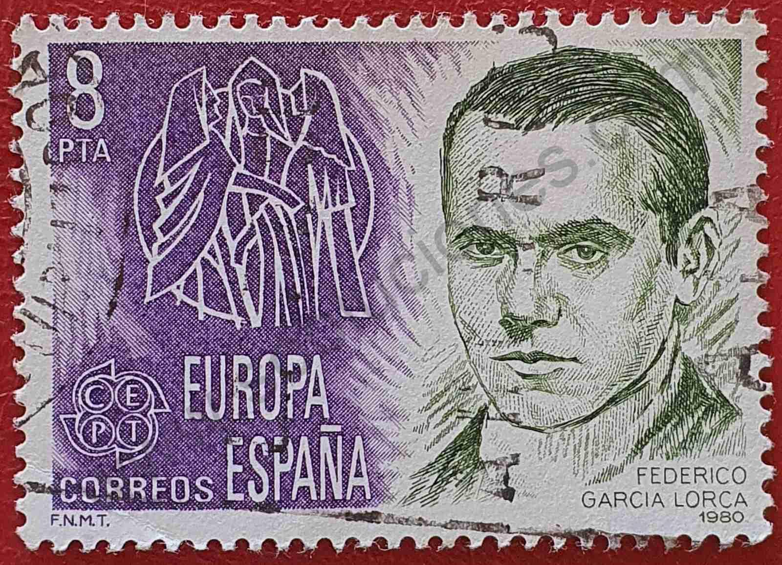 Sello Federico García Lorca - España 1980