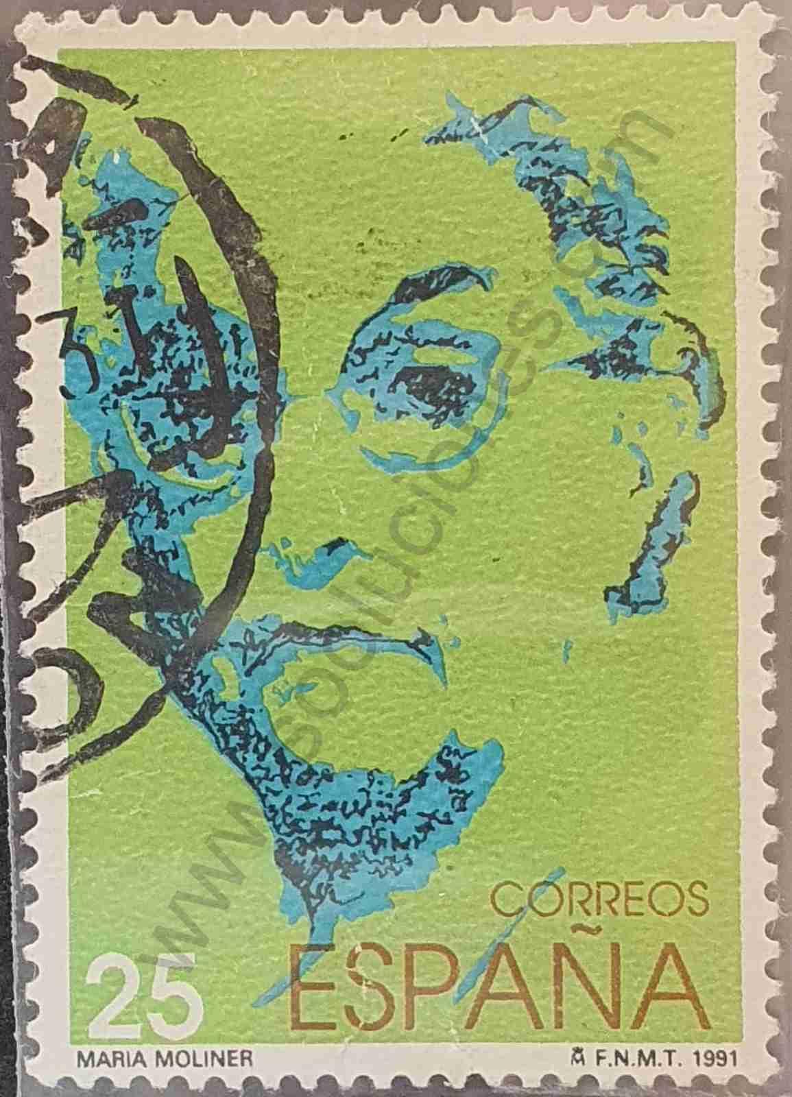 Maria Moliner - Sello España 1991