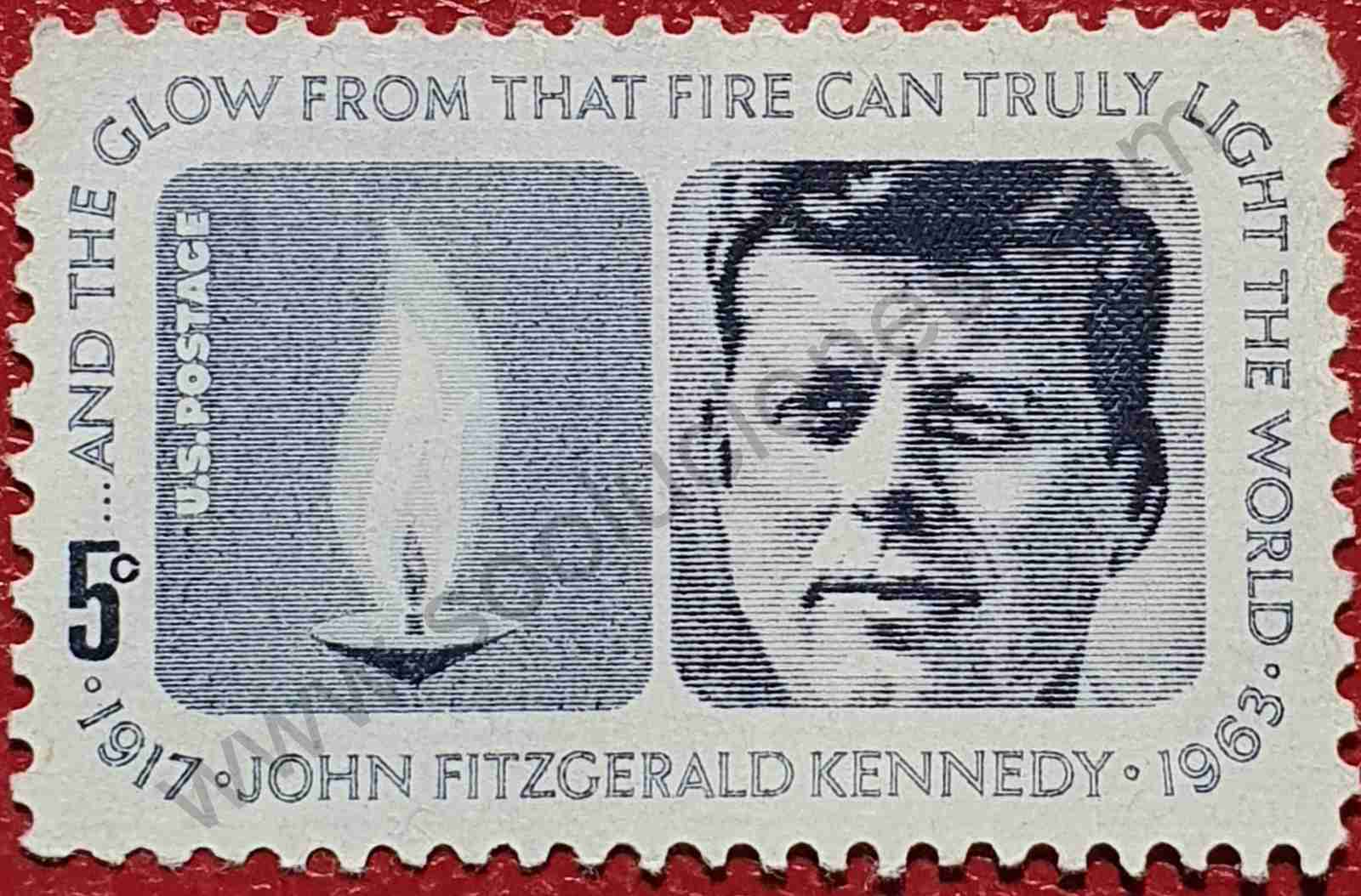 John Fitzgerald Kennedy - Sello Estados Unidos 1964