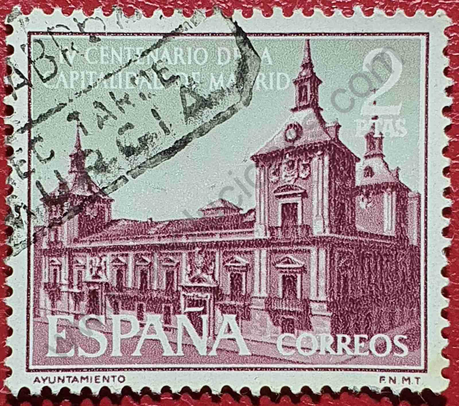 Ayuntamiento de Madrid - Sello España 1961