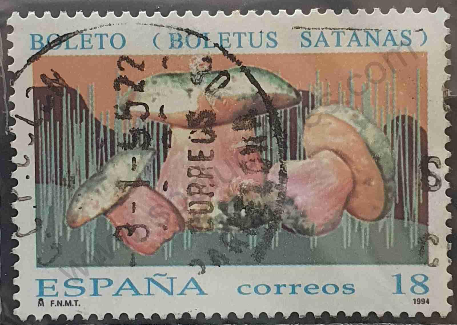 Boletus Satanas - Sello España 1994