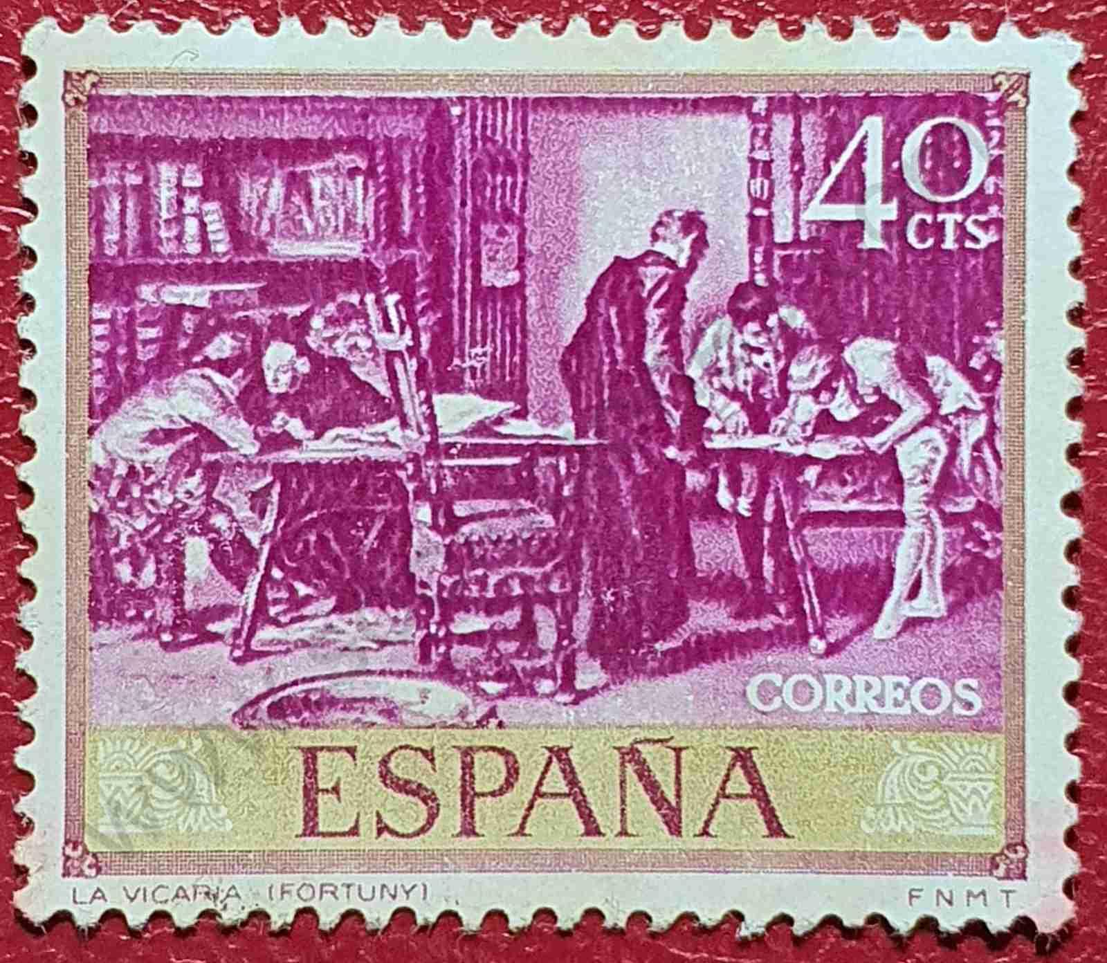 La Vicaría - Sello España 1968