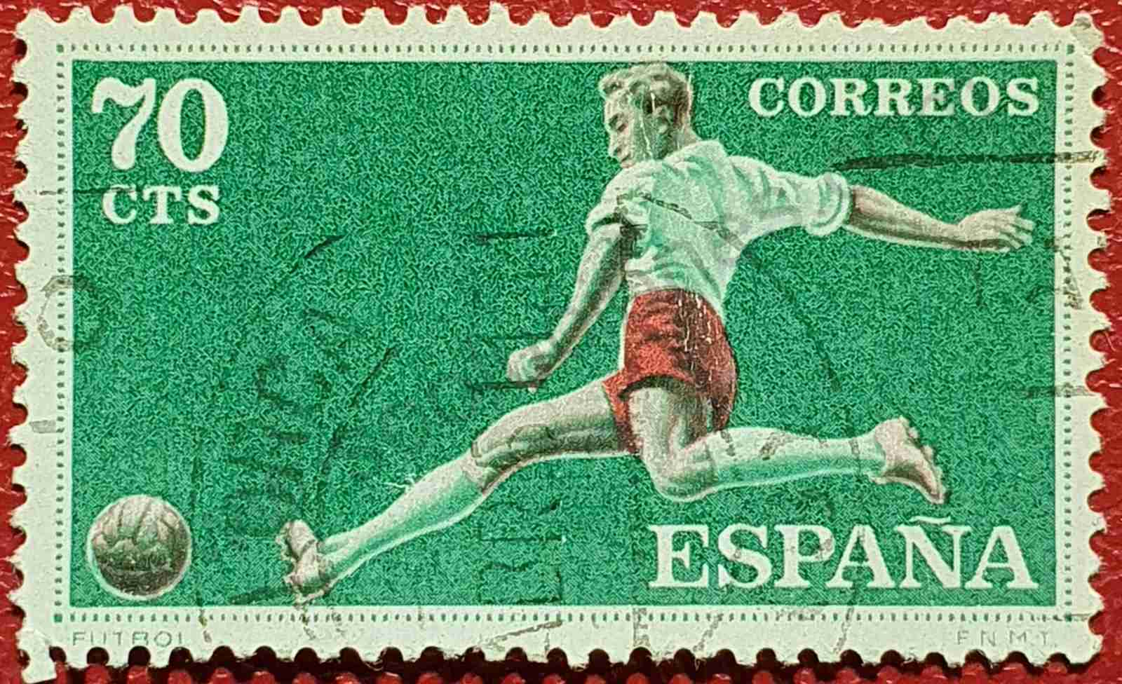 Fútbol - Sello España 1960