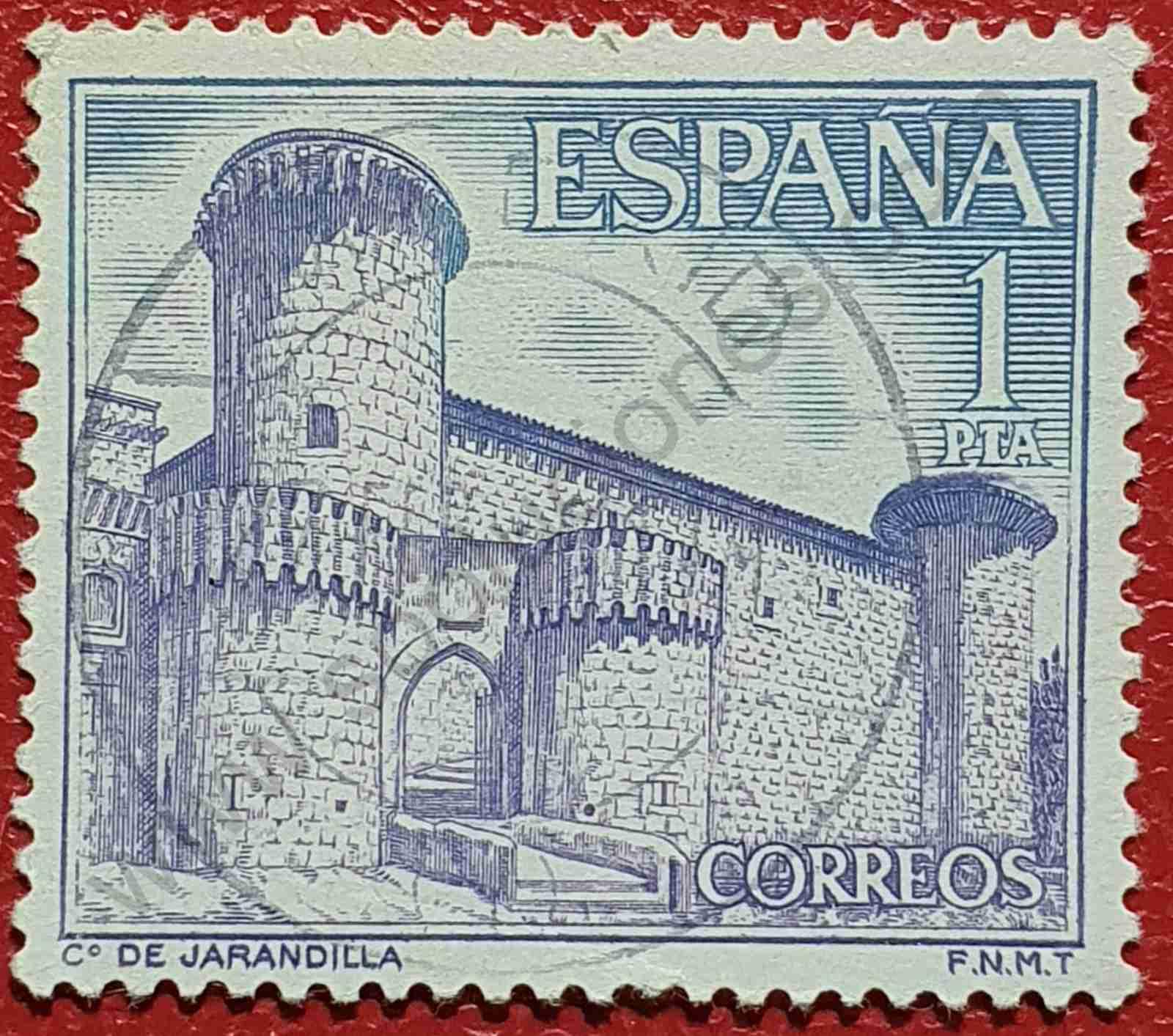 Castillo Jarandilla - Sello España 1967